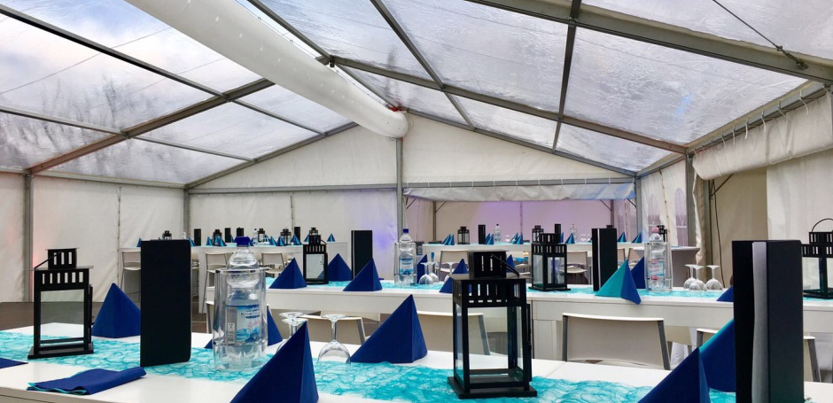 Feiern im Zelt für Hochzeiten und andere Events